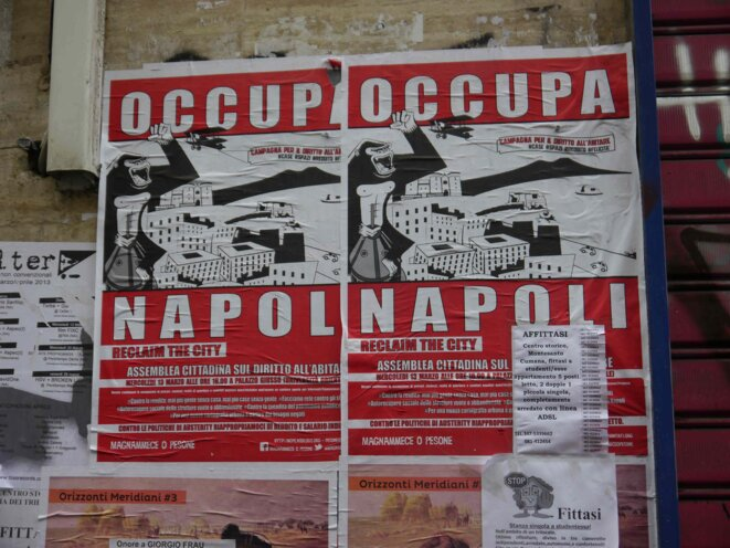 Affiche anti-austérité © JC