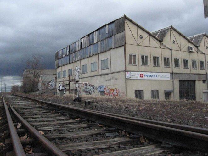 L'usine Amisol aujourd'hui  © Inès Léraud
