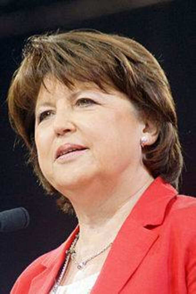 Martine Aubry, en 2012