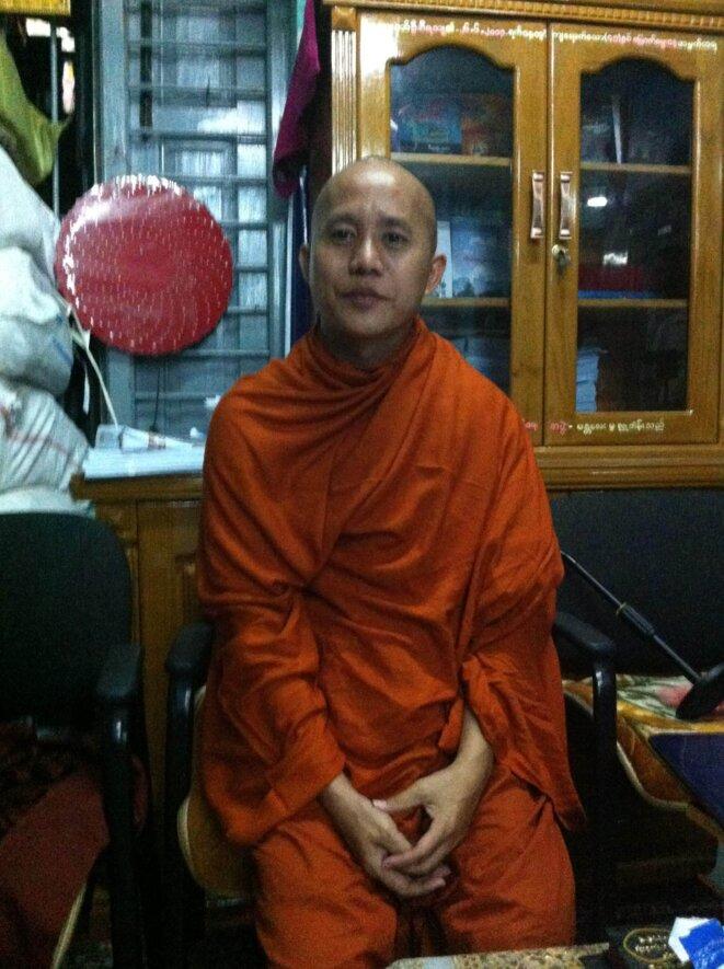 Le moine U Ashin Wirathu