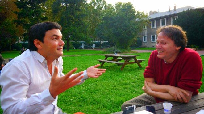 Thomas Piketty et David Graeber