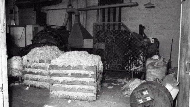 Amiante dans l'usine Amisol