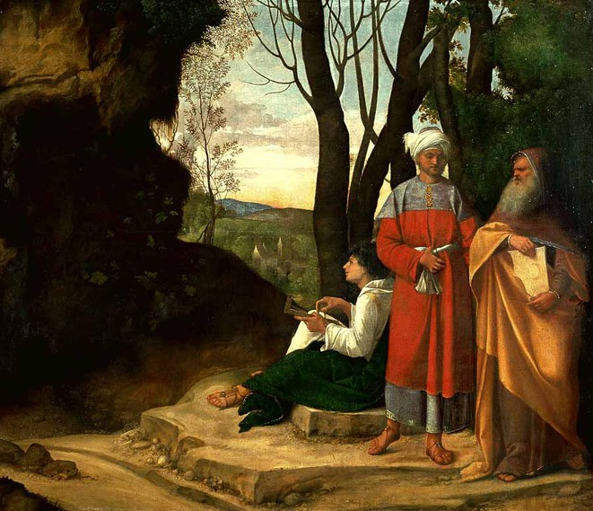 Les 3 philosophes de Giorgione