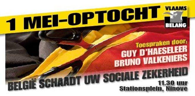 Affiche Vlaams belang (flamand)