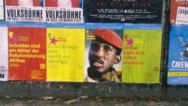 Affiches à Berlin