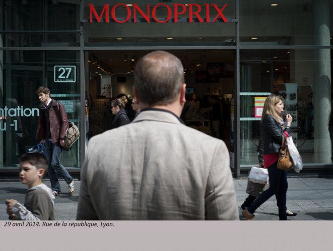 Rue de la République, Lyon. © henri granjean/item