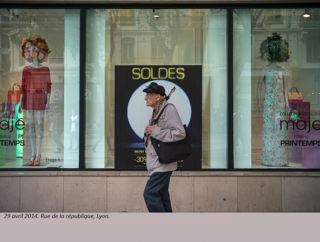 Rue de la République, Lyon. © henri granjean/ item