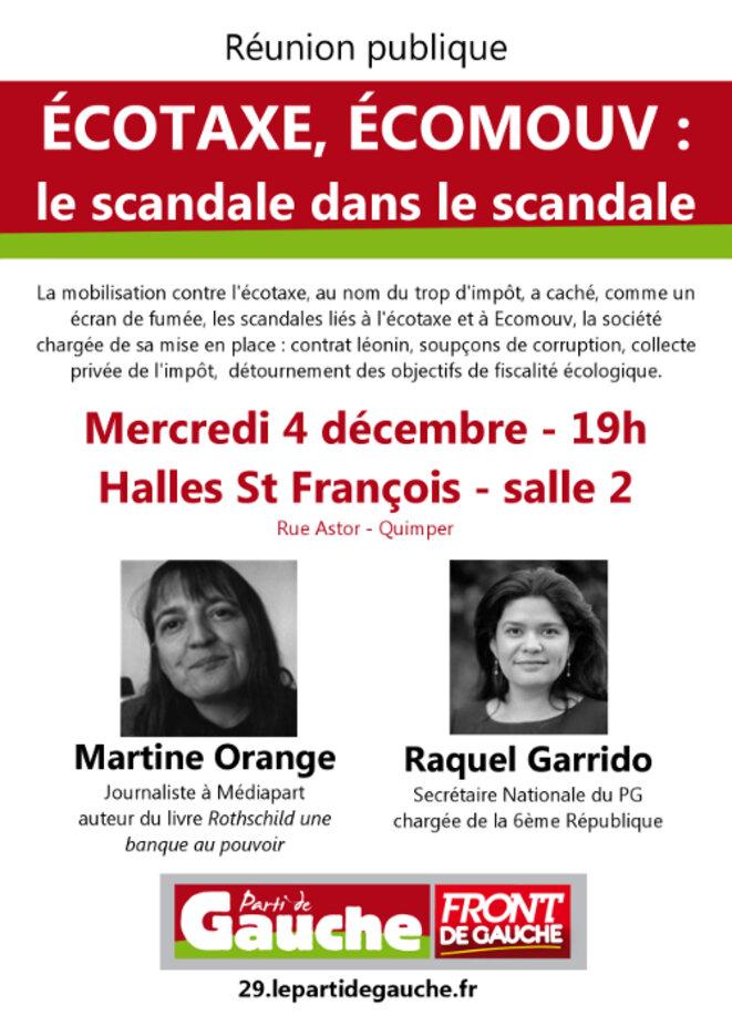 LE SCANDALE DANS LE SCANDALE © PARTI DE GAUCHE