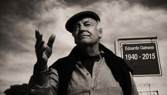 Eduardo Galeano (Montevideo 1940 - Montevideo 2015) © TeleSUR