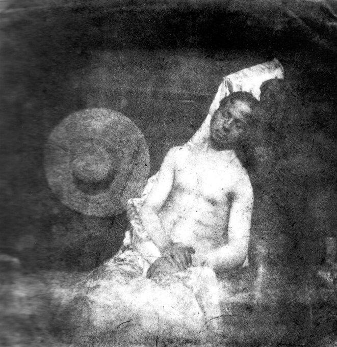 Autoportrait en noyé, 1840 © Hippolyte Bayard