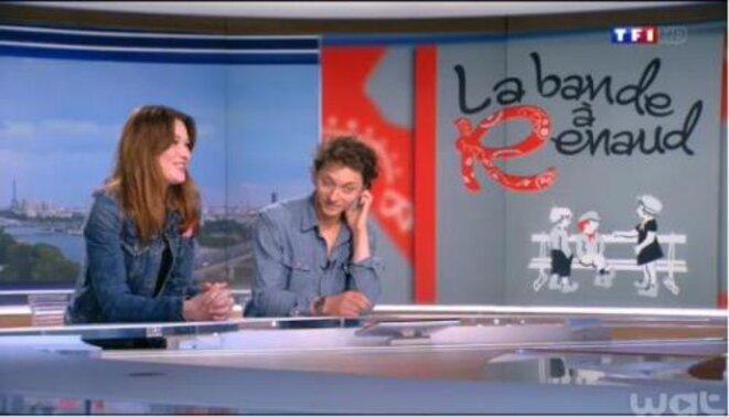 Carla Bruni et Raphaël n'ont pas le même sens de la cocasserie.