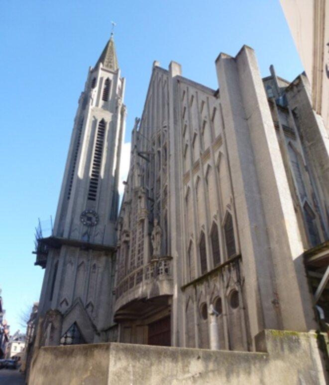 Église Saint-Nicaise actuelle © BRL