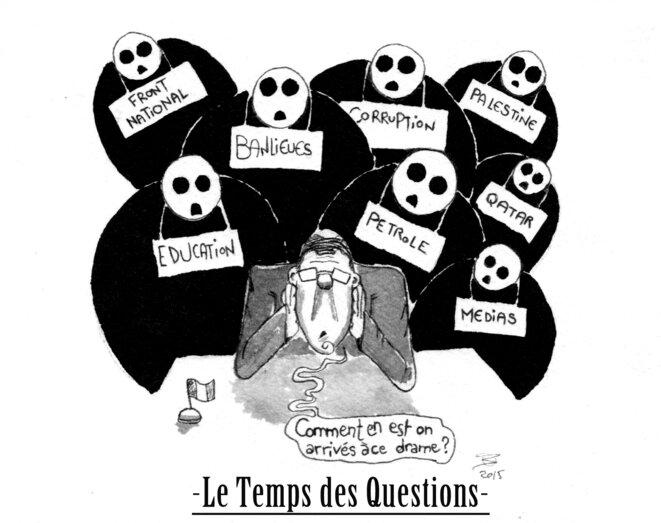 Humble et petite contribution graphique a l'emission l'excellente emission du 22/01/15. © Breton Hugues