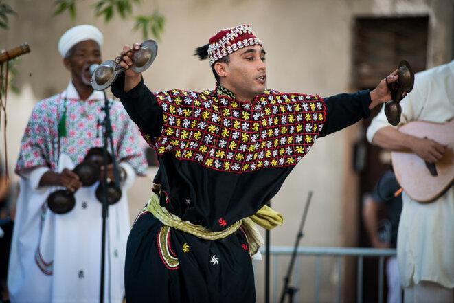 Gnawa Tribe © Olivier Hoffschir