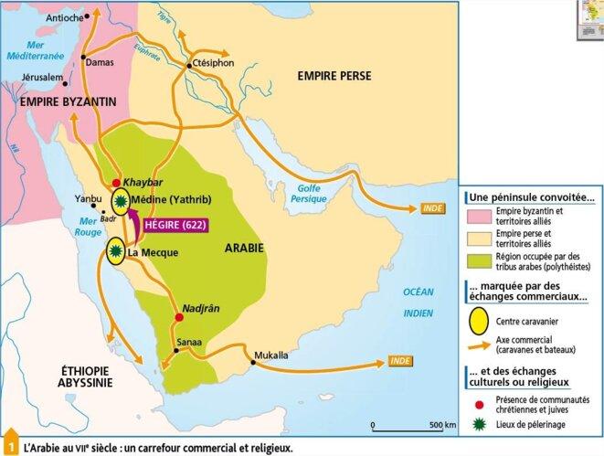 La péninsule arabe au temps de Mahomet