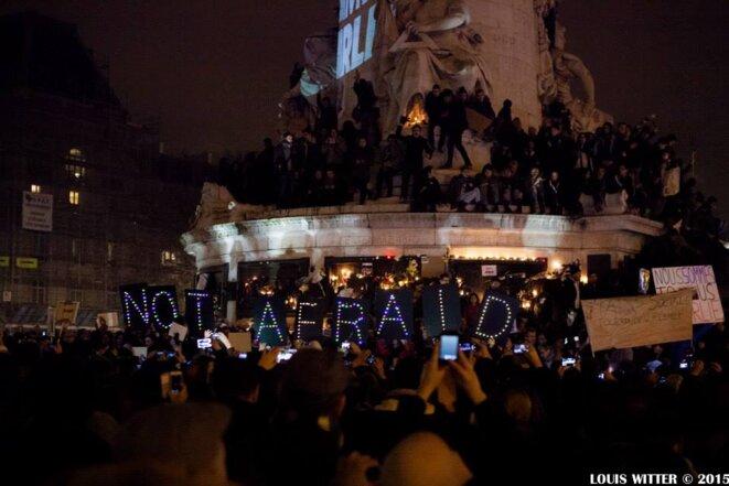 Marche du 11 janvier 2015 © Louis Witter