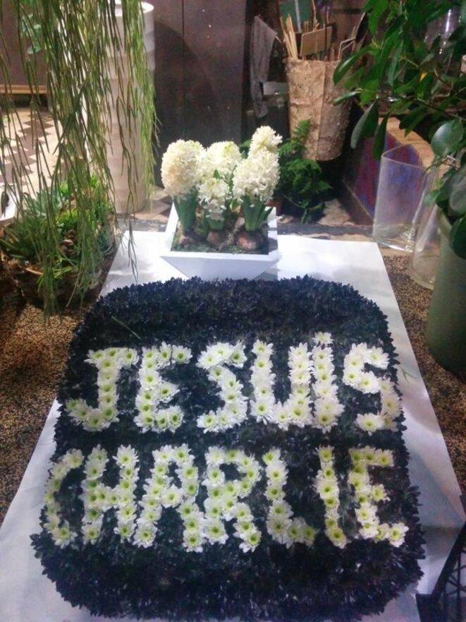 Je suis Charlie en fleurs