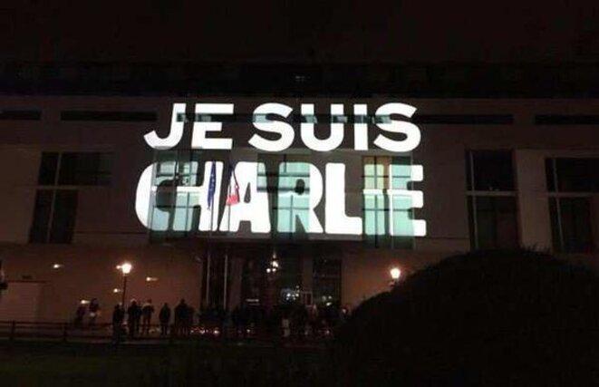 Je suis Charlie en projection