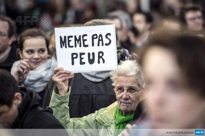 MÊME PAS PEUR © Jean-Philippe Ksiazek AFP