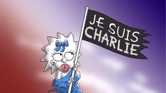 Maggie des Simpson est Charlie