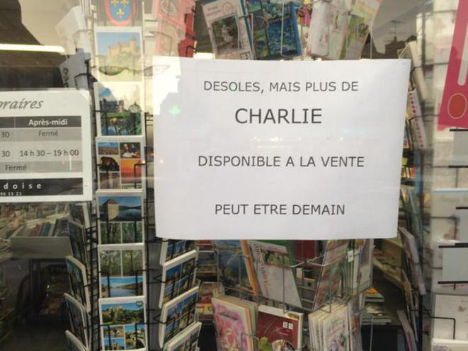 Rupture de stock du dernier Charlie Hebdo
