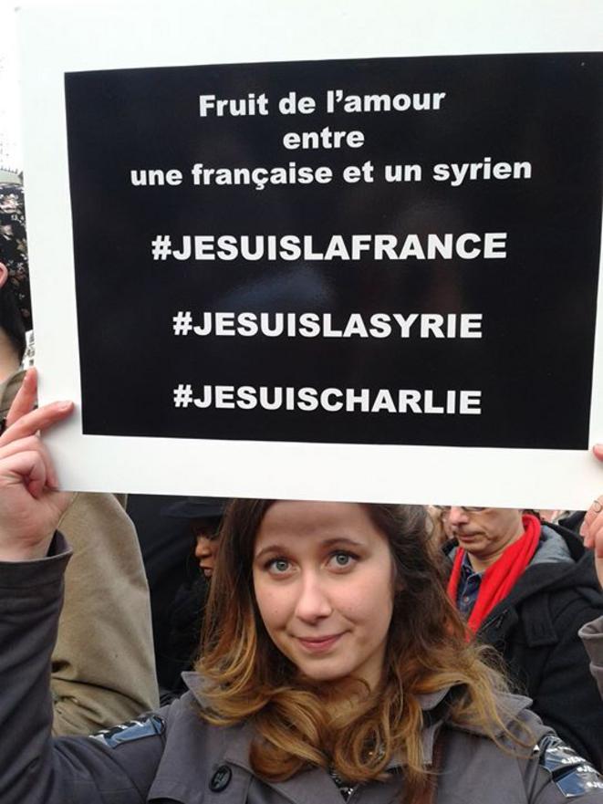 « Fruit de l'amour entre une française et un syrien »