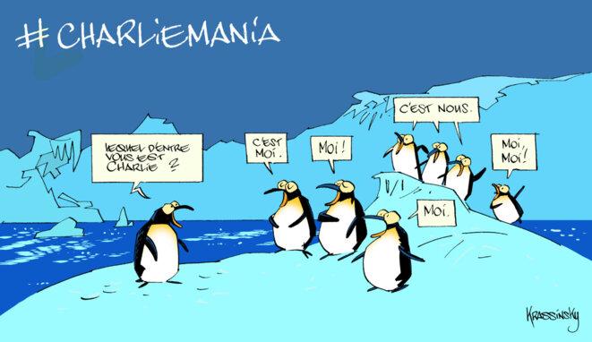 #CharlieMania © Krassinsky