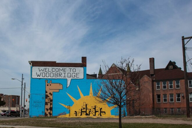Certains quartiers retrouvent une dynamique, comme par exemple Woodbridge, qui recommence à accueillir des familles. © Nastasia Peteuil
