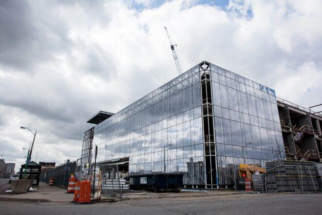La ville n'est cependant pas au point mort: l'université Wayne State construits un nouveau laboratoire. © Nastasia Peteuil