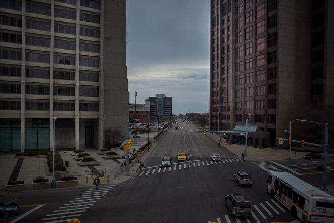 Michigan Avenue est l'artère de la ville, étendue sur plusieurs dizaines de kilomètres.  © Nastasia Peteuil