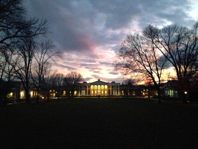 L'Université de Virginie est l'une des plus prestigieuse des écoles publiques américaines. © Nastasia Peteuil / Instagram