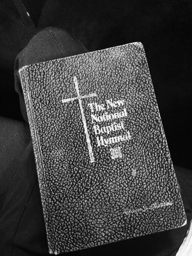 The new national baptist hymnal.  © Nastasia Peteuil
