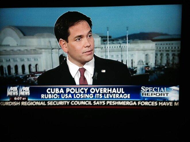 Marco Rubio dans ma télé.