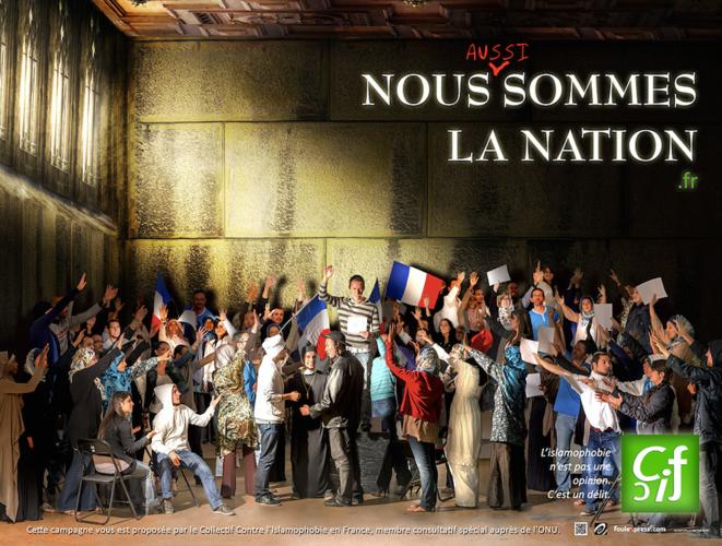Lancée en novembre 2012, cette campagne avait été censurée par la Régie Autonome des Transports Parisiens (RATP) et violemment critiquée sur la radio RTL © Collectif Contre l'Islamophobie en France