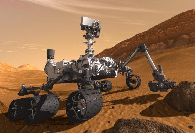 La sonde américaine Curiosity