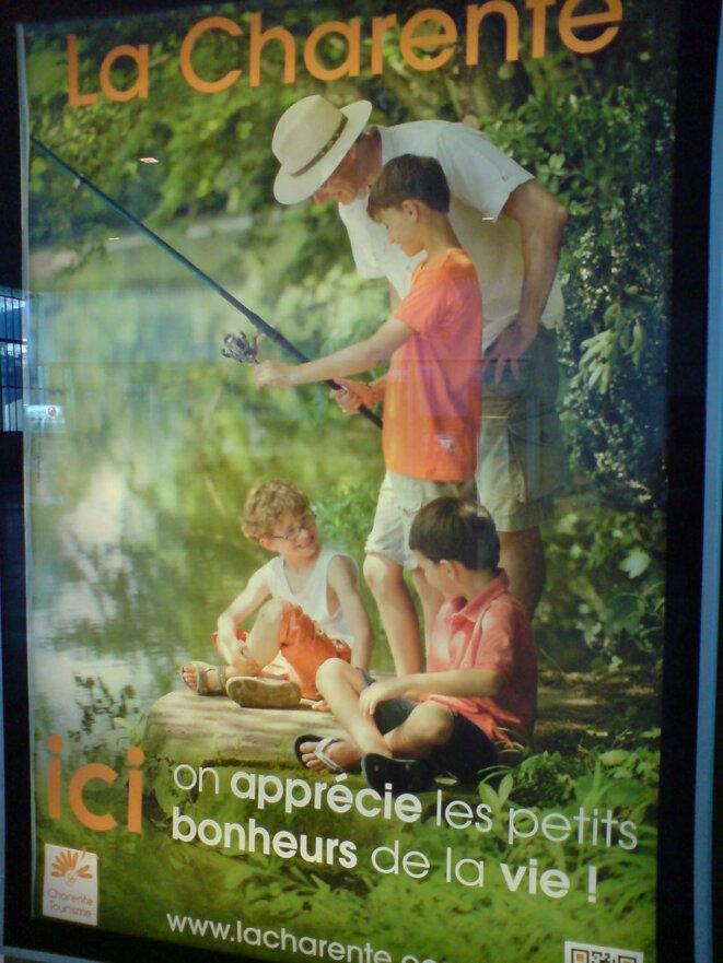 Campagne officielle de promotion du tourisme en Charente © Photo JC Mathias