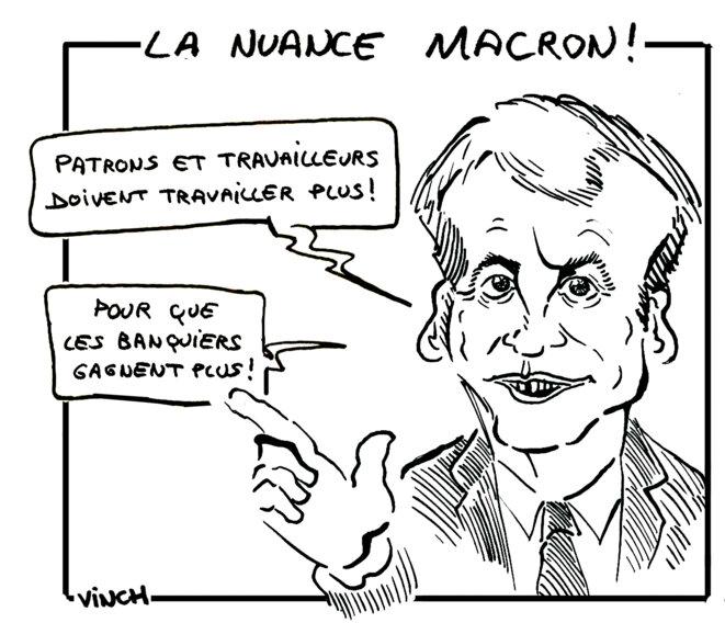 La nuance Macron © vinch
