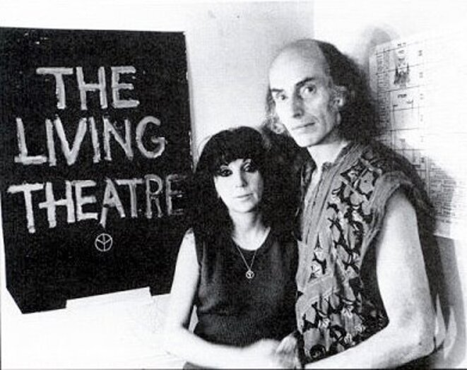 Judith  Mlaina et Julian Beck © dr