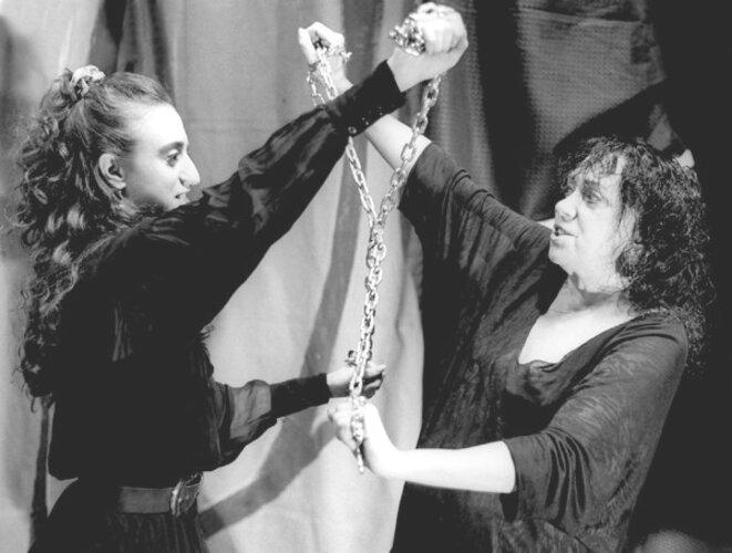 Judith Malina et Julian Becj dans les années 90 © dr