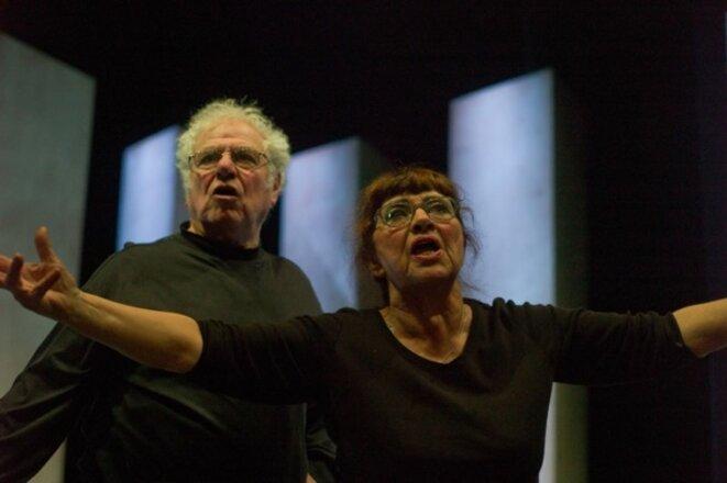 Hervée de Lafond et Jacques Livchine © Jean-Pierre Estournet