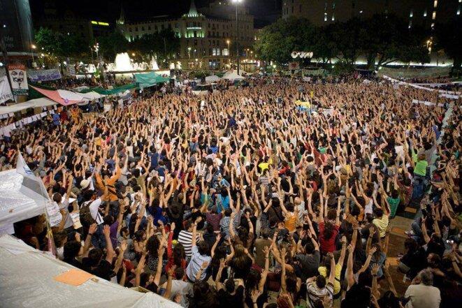 Manifestación del 15-M el 15 de mayo de 2015 en Madrid. © FOTOMOVIMIENTO 15M