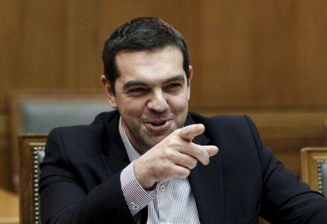 Alexis Tsipras, en Moscú. © Reuters
