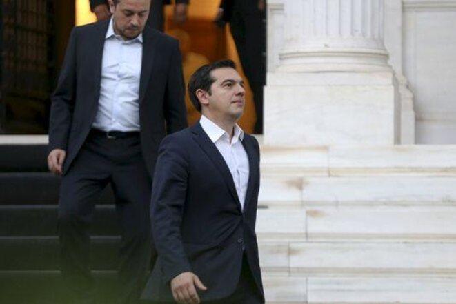 Alexis Tsipras, el 8 de julio en Atenas. © Reuters