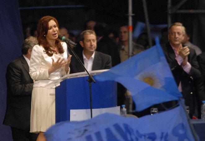 Elecciones de 2007 en Argentina, Cristina y Néstor Kirchner. © Wikimedia Commons