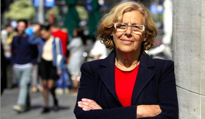 Manuela Carmena, nueva alcaldesa de Madrid.  © (dr)