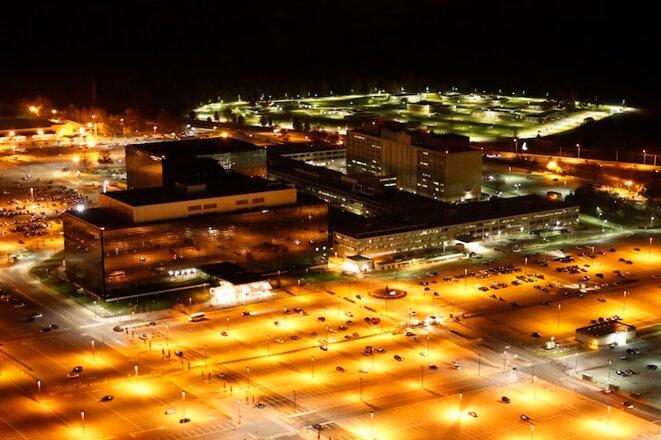 La sede de la NSA en Fort Meade, Virginia. © Trevor Paglen
