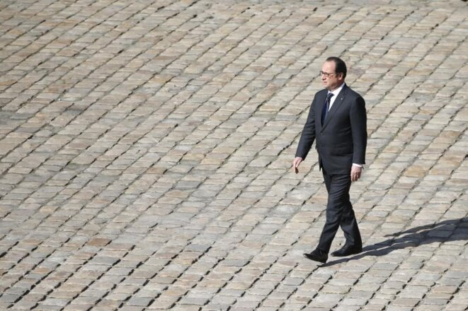 François Hollande el 7 de abril en París. © Reuters