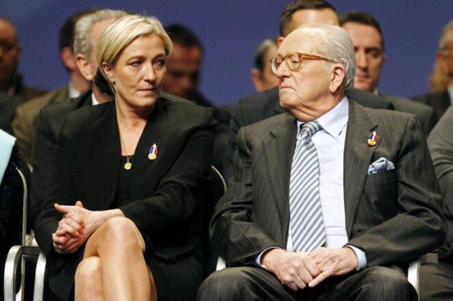 En el Congreso del FN en Tours, el 16 de enero de 2011. © Reuters