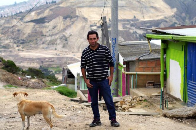 El desplazado, Alexandre Torres sueña con ser propietario.  ©  Jean-Baptiste Mouttet