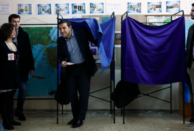 Alexis Tsipras el 25 de enero de 2015 en Atenas. © Reuters